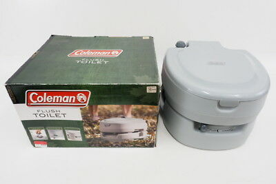 Coleman Portable Flush Camping/Boating Toilet With 13.3 Liter Waste Tank
