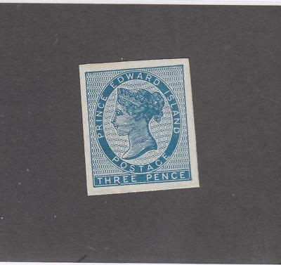 PRINCE EDWARD ISLAND # 6b VF-MVVLH IMPERF CAT VALUE $75+