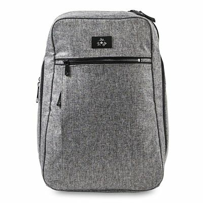 JuJuBe Ballad Backpack Baby Diaper Bag Graphite