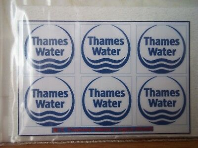 Thames Water Stickers ( B )