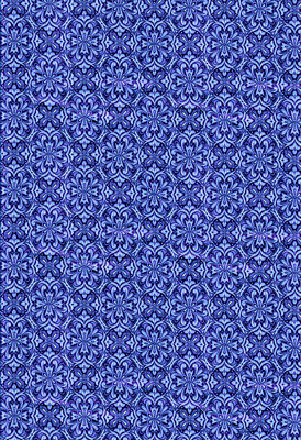 dolls house wallpaper blue