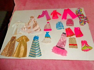 Nice Vintage Topper Dawn Doll Dress And Clothes Lot