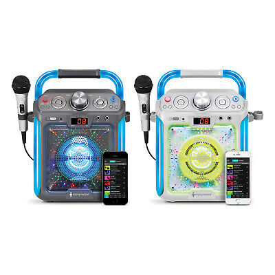 Singing Machine SML2082 Bluetooth G-Lite CD+G Karaoke System with Microphone