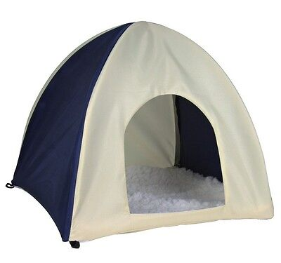 Trixie - Wigwam  Crunch Hooded Pet Rabbit Tent Bed LARGE 62683
