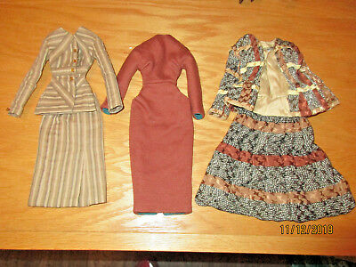 (3) Gene Doll Outfits
