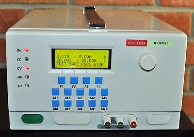 Volteq Programmable DC Power Supply HY3020EP 30V 20A Arduino Included