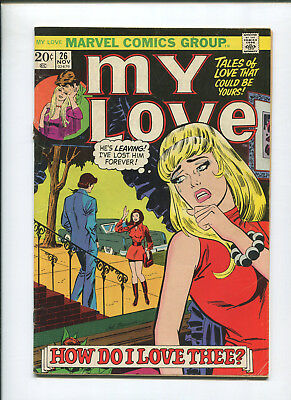 My Love #26 (4.0) How Do I Love Thee Kirby and Baker - 1973