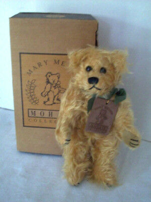 """8""""  Li'L Shelby mohair jointed bear Mary Meyer"""