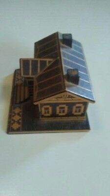 collectible wooden replica house from Russia