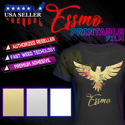 photo regarding Printable Vinyl Htv titled ESSMO™ PRINTABLE Warmth Go Vinyl HTV TShirt 20\