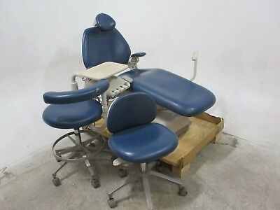 Adec Performer Dental Exam Patient Chair w/ Delivery & Matching Stools - 70582
