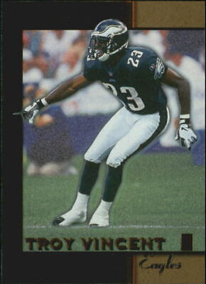 1996 Score Board Lasers Football Card #56 Troy Vincent