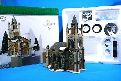 Dept 56 Somerset Valley Church Chiming Bells  Dickens Village Complete