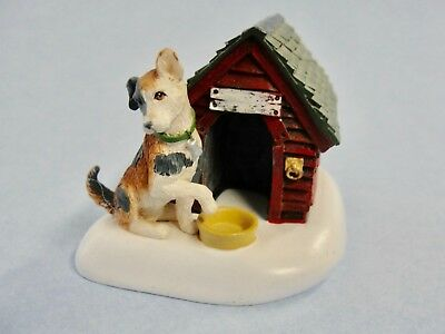 Dept 56 General Village - Cats & Dogs 52828 Dog / Doghouse Single Figure New