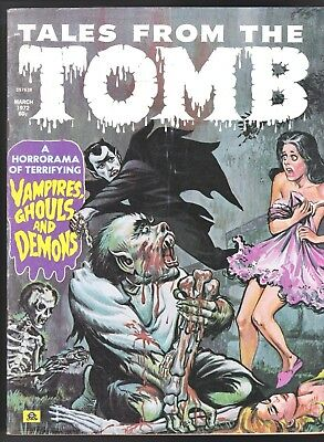 Tales From The Tomb V 4 # 2 Eerie Pubs Magazine Comics 1972 Horror Horrorama
