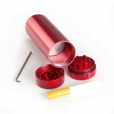 1 Piece Aluminum Tobacco Herb Grinder Spice Smoke Herbal Alloy Crusher Container
