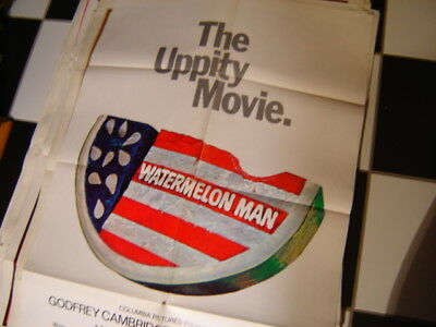 Vintage Orig 1970 The Uppity Movie Watermelon Man 27X41 1 Sheet Movie Poster