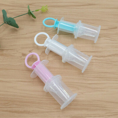Baby Squeeze Medicine Dropper Dispenser Infant Pacifier Feeder Feeding Syringe H
