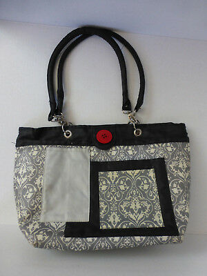 2 RED HENS Rooster Diaper Bag Owl Dots