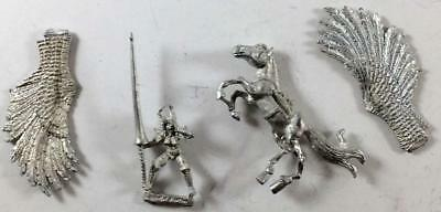 Iron Wind Fantasy Mini 28mm Armored Valkyrie on Pegasus #1 NM