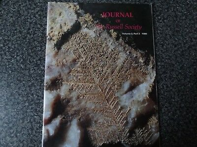 FOUR RUSSELL SOCIETY JOURNALS,Minerals of CORNWALL,SCOTLAND,WALES,CUMBRIA,ETC