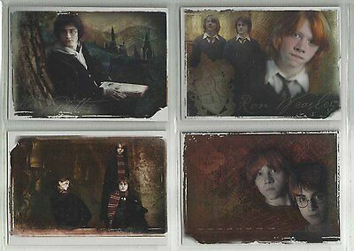2006 Harry Potter Memorable Momente: Serie 1 Verpackung Flaschenaufsatz Set 4