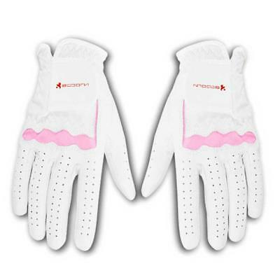 Women Goat Leather Breathable Soft Comfortable Adjustable Golf Gloves Supplies