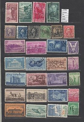 Lot Stamps United States Used (L31481)
