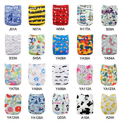 Reusable Baby Nappies Washable Baby Pocket Diapers Stoffwindeln Pañal Pannolini