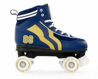 SFR NEW Rio Varsity Adult/Mens/Womens Quad/Roller Skates Blue/Gold ALL SIZES