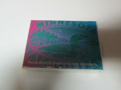 NEW Sealed Package Deck of Playing Cards MINNESOTA STATE LOTTERY