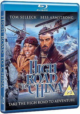 High Road to China (1983) Tom Selleck Blu-Ray BRAND NEW Free Shipping