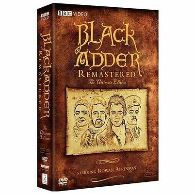 Black Adder Remastered: The Ultimate Edition DVD Set BRAND NEW Free Ship