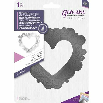 Crafter's Companion Gemini Foil Stamp 'N' Cut Die - Elements - Frame - Biarritz