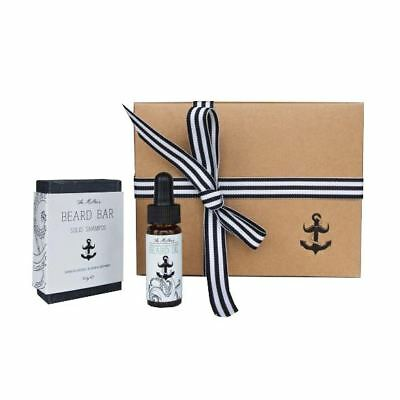 The Miller's Beard Gift By The Brighton Beard Company, Beard Oil & Beard Bar