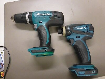 Makita DTD146 Impact Driver AND DHP456 Drill Driver BODY'S ONLY