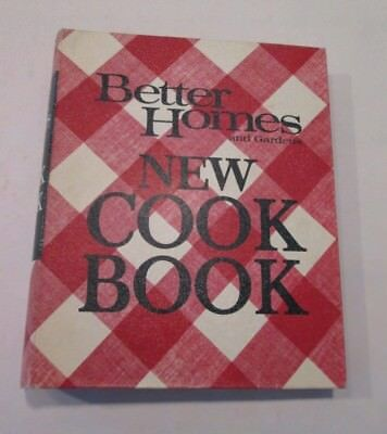 Vintage Better Homes and Gardens New Cook Book 5-Ring Binder Printed in 1968