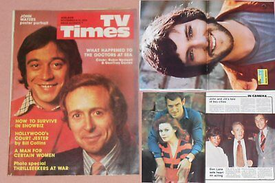 TV TIMES 1974 - ROBIN NEDWELL Cover Danny Kaye Peter Finch JOHN WATERS Poster