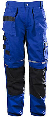 DBlade Mens Trousers Multipocket Reinforced Work Wear Pants CE Certified EN14404