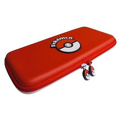 Nintendo Switch Official Licensed Pokemon Pouch Travel Case Bag Red - NEW