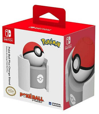 Nintendo Switch Poke Ball Plus Drop Charge Stand Officially Licensed Pokemon NEW