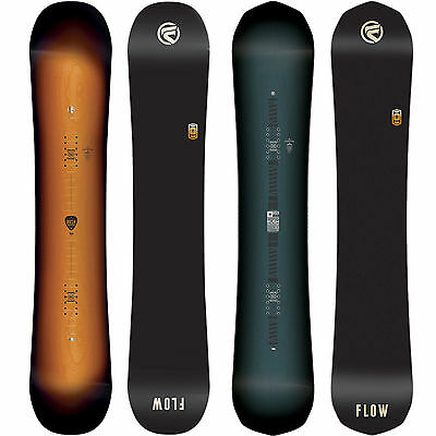 Flow Rush Men's Snowboards Freestyle Freeride I-Rocker Camber 2017-2018 New