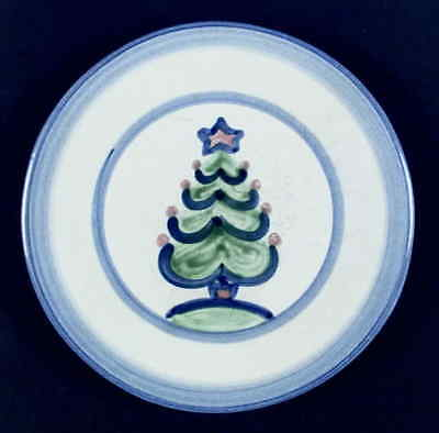 M A Hadley CHRISTMAS Tree Luncheon Plate 5804663