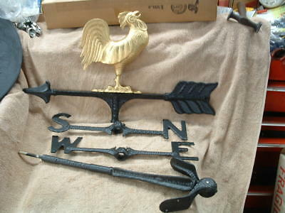 Large Old Century Forge Brand New Old Stock Rooster Weather Vane Made In Usa