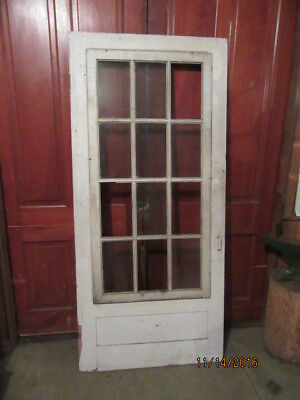 4 Antique Vintage Rustic Farm House Wood Architectural Salvage Screen Storm Door