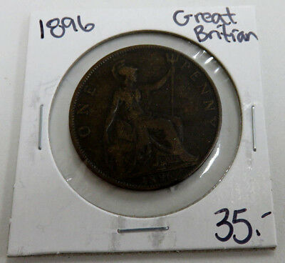1896 Great Britain Penny