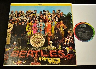 The Beatles Capitol 2653 Sgt. Pepper's Lonely Hearts Club Band