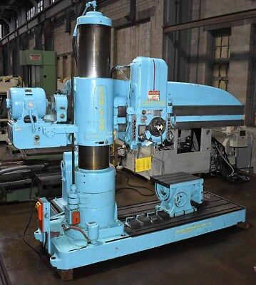 "8' x 19"" Carlton Radial Arm Drill, Model 4A, Excellent condition"