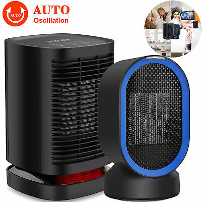 1200W Portable Mini Electric Heater Fan Handy Air Warmer Silent Desk Home/Office