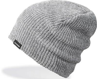 8a3f03c9353 DaKine Tall Boy Heather Beanie - Charcoal   White - New